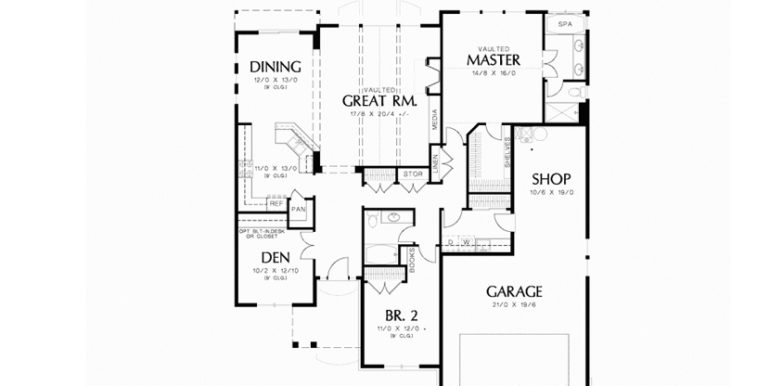 Lot 146 - Floor Plan