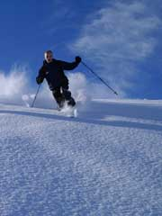 Alpine Snow Skiing at White Pass, WA - Yakima Valley